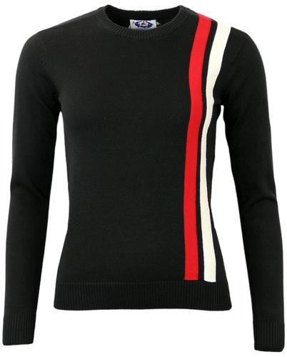 Madcap England 60s Mod Womens Racing Jumper (B)