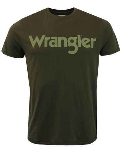 WRANGLER Men's Retro 70s Signature T-Shirt (FN)
