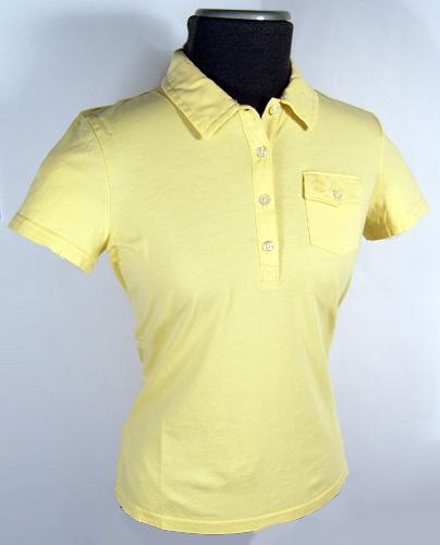 'The Diane' - Retro Mod Womens Polo by PENGUIN (S)